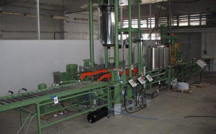 Linia do produkcji beczek stożkowych (Greif)